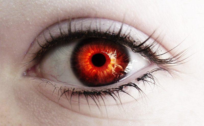 Зеленые глаза статистика