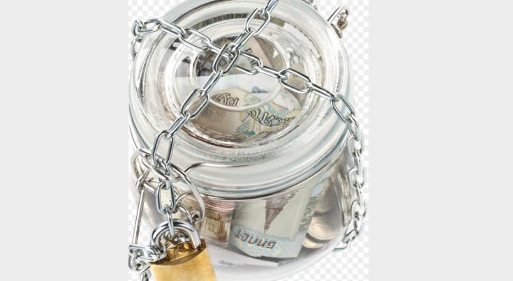 Хранить деньги в стеклянной банке нежелательно