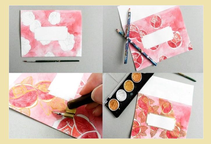 Перенесите рисунок на выбранный материал, раскрасьте